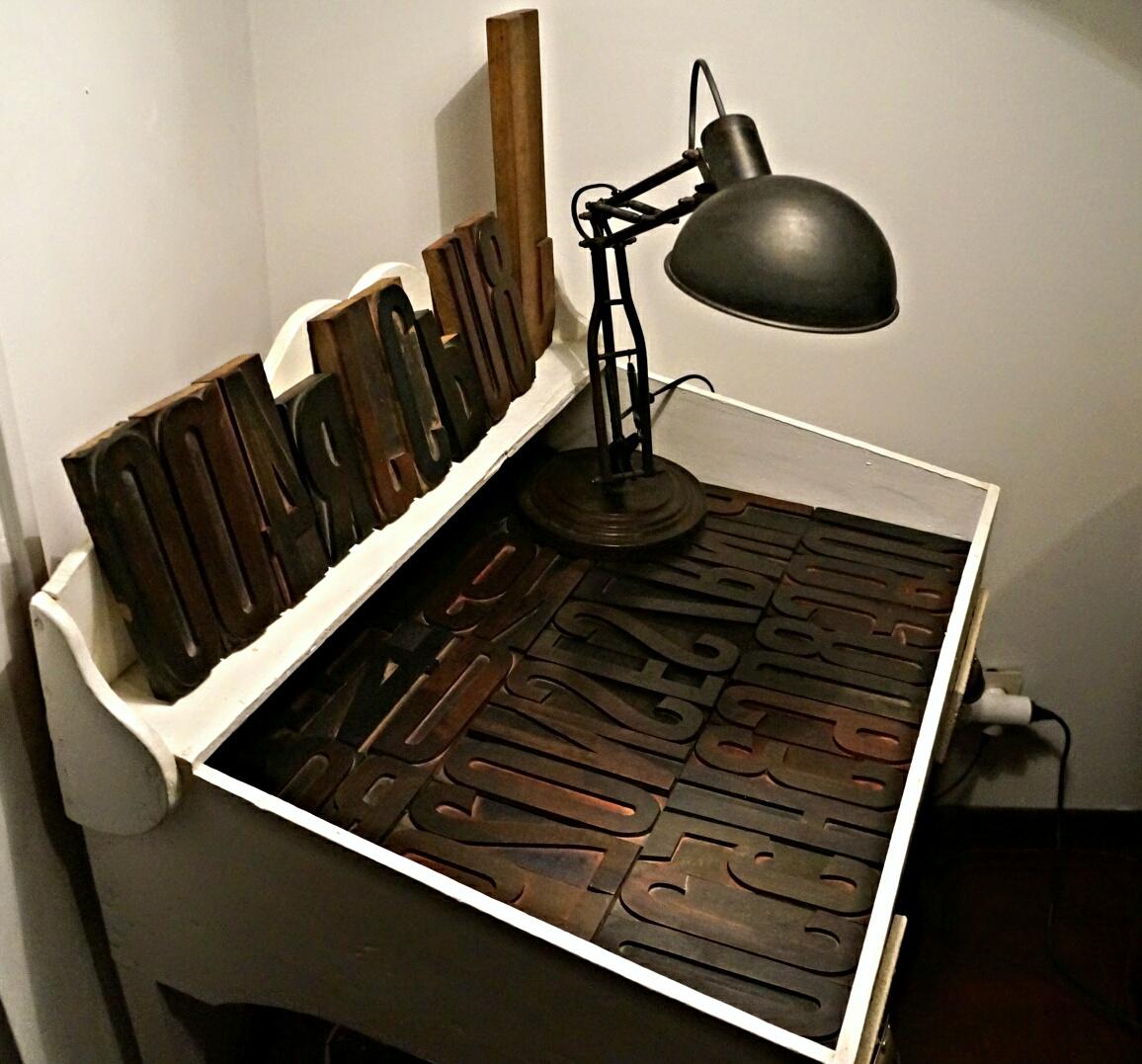 Lettre d imprimerie bouillon de peinture for Plans d imprimerie