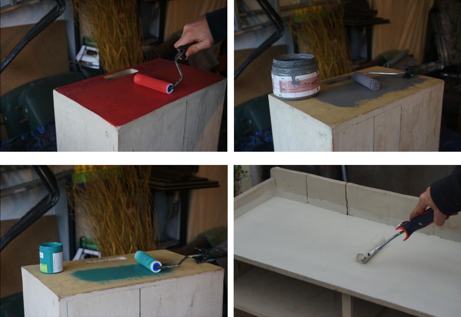commode multi tiroirs la vie en couleurs bouillon de peinture. Black Bedroom Furniture Sets. Home Design Ideas